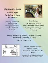 Kundalini Yoga and Gong meditation
